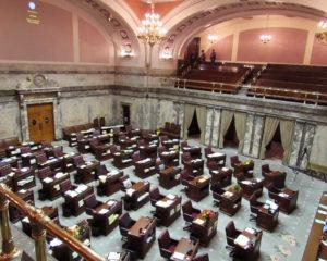 inside Legislative Building