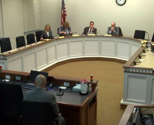 Davidson Testifies On Student Financial Education Bill