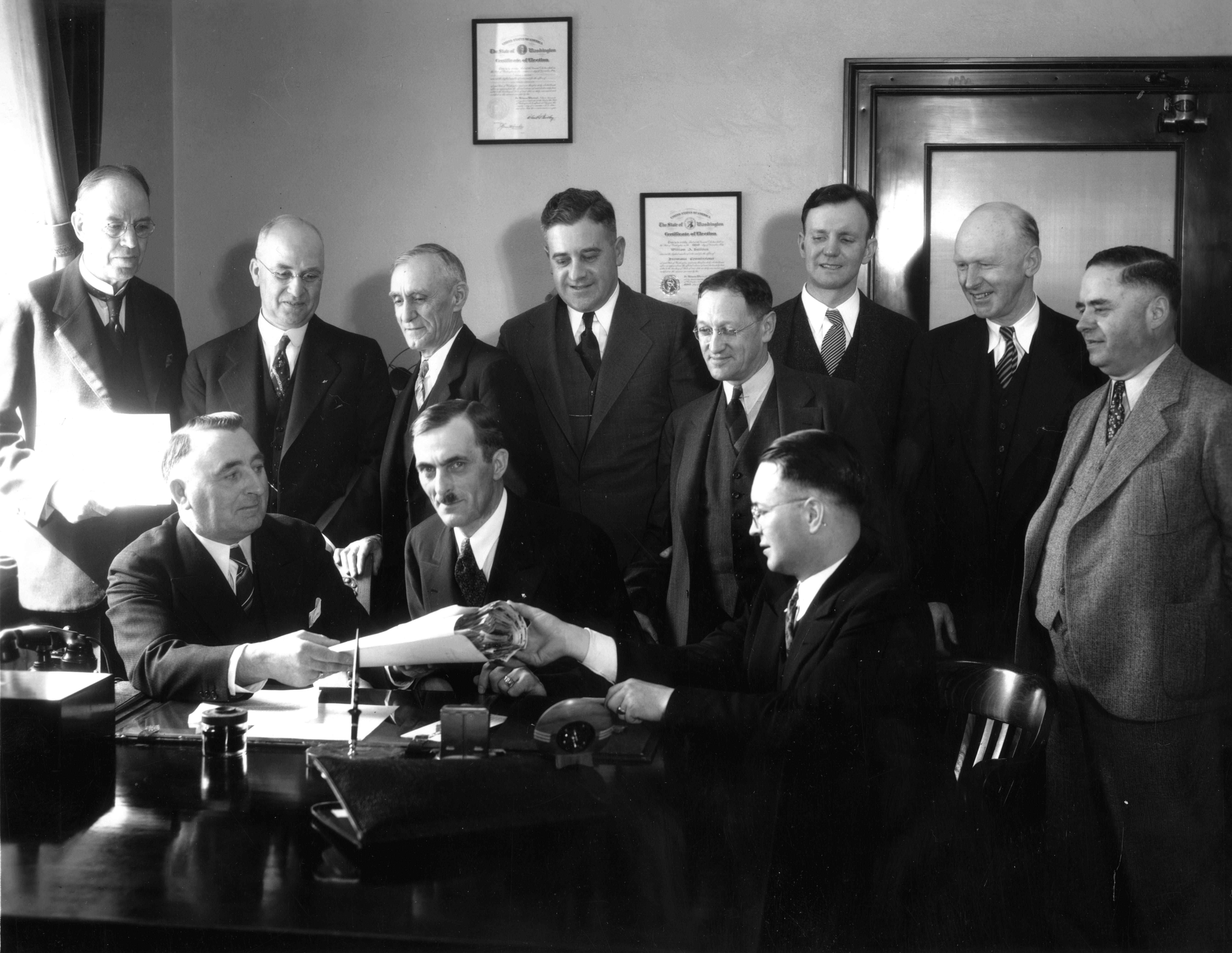 Past Treasury staff