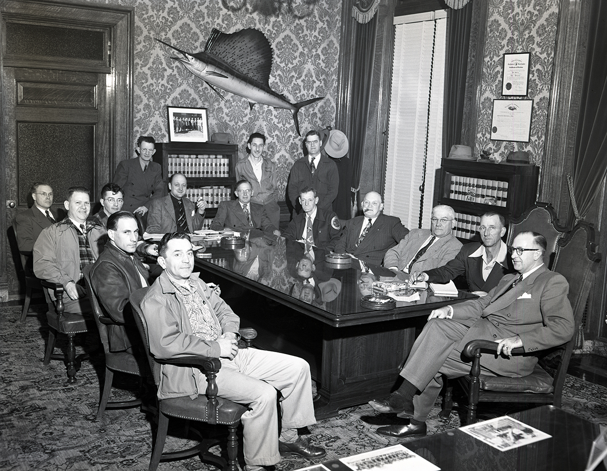 historical photo of OST staff