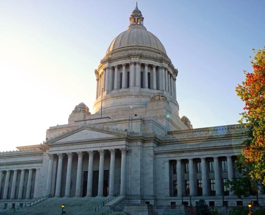 Legislative Building front steps