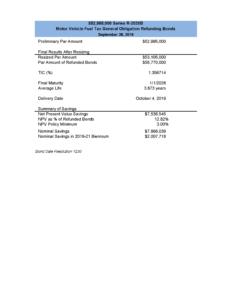 SFC Bond Sales Summary R-2020B