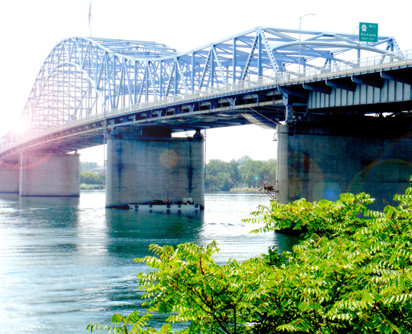 US 395 - Pioneer Memorial Bridge