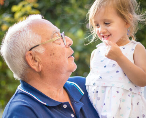Grandfather and Grandchild